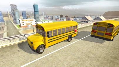 Crazy School Bus Transport Sim screenshot two