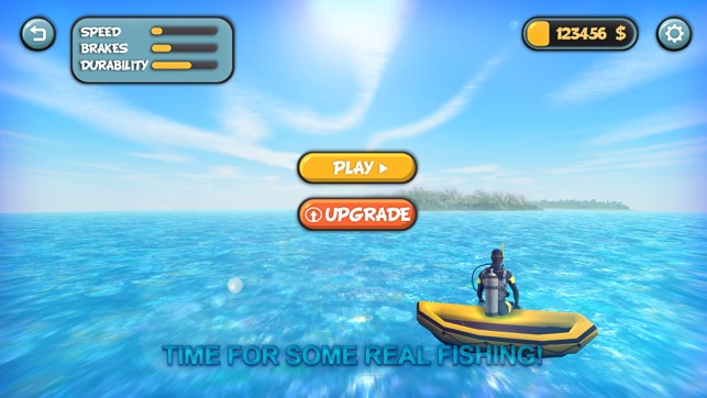 Let's Catch Fish: Spearfishing - 3D diving fishing on the