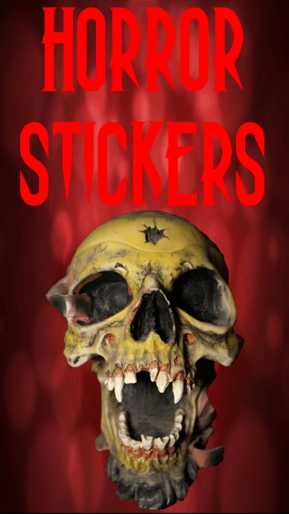 Horror Stickers - Scary Photo Maker