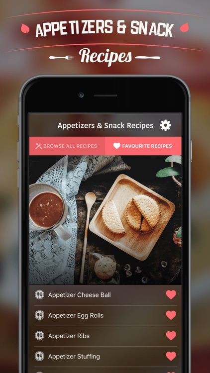 Appetizers & Snack Recipes