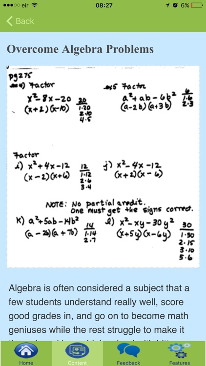 How To Learn Algebra screenshot-4
