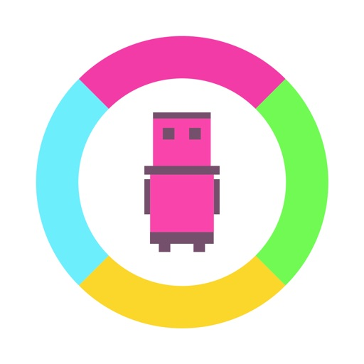 Robo Jump - Find True Colour iOS App