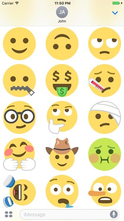 Smileys Stickers