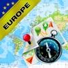 西欧 欧洲联盟(欧盟)- 离线地图和GPS导航仪