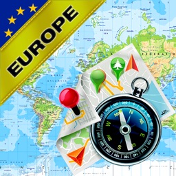 Western Europe, European Union (EU) - Offline Map & GPS Navigator