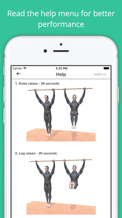 Pull-up Bar Workout Challenge Free - Build muscles screenshot-4