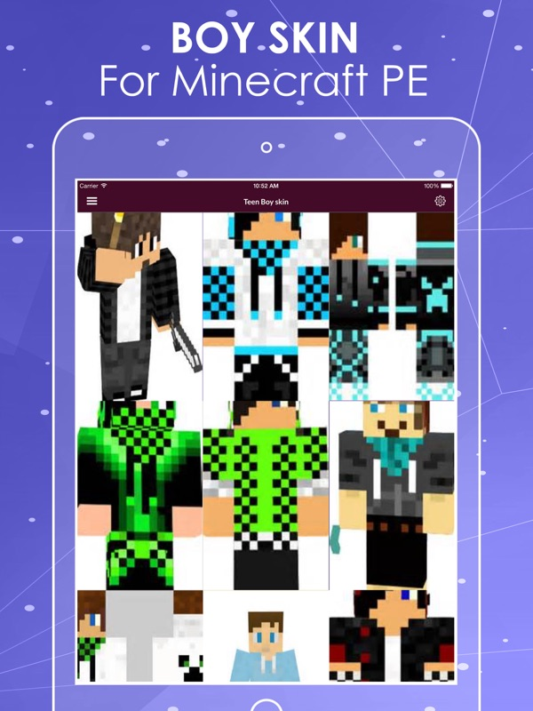 Boys Skin Wallpapers For Minecraft Pe Online Game Hack And