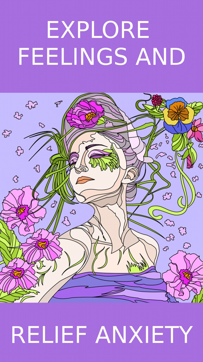 Coloring Book for Adults - Adult Coloring Book Screenshot