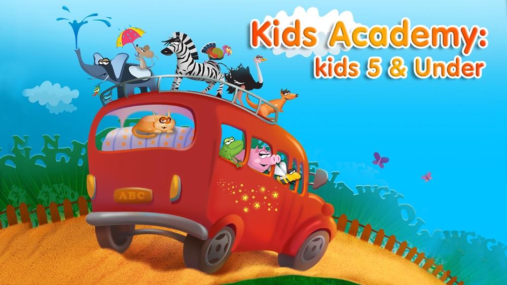 Preschool & Kindergarten learning kids games free