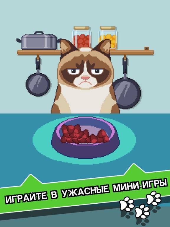 Сердитый Котик: ужасная игра на iPad