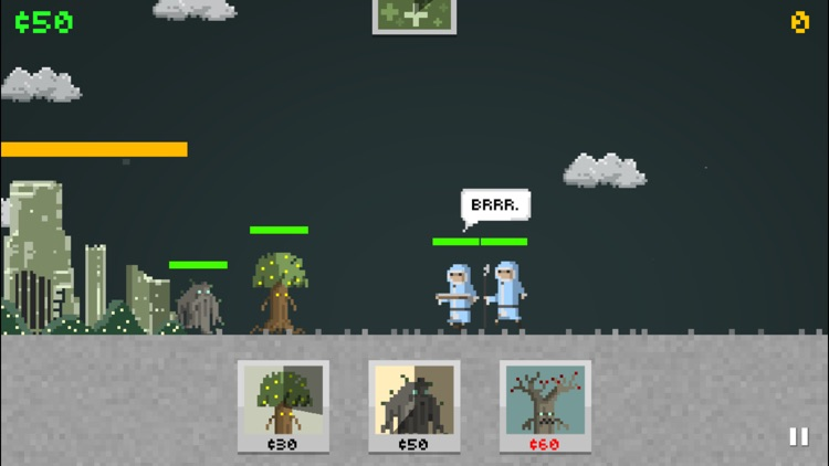 Pixel Warrior: castle defence and roguelike hybrid