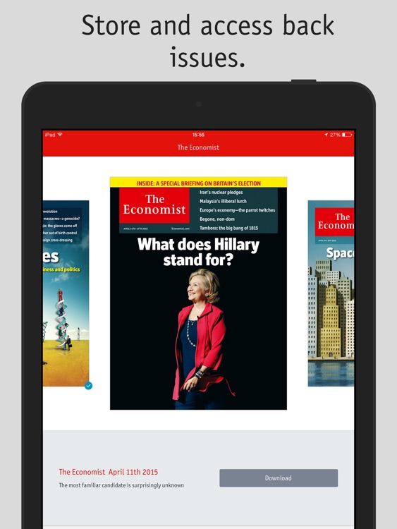 The Economist Classic (US) screenshot-4
