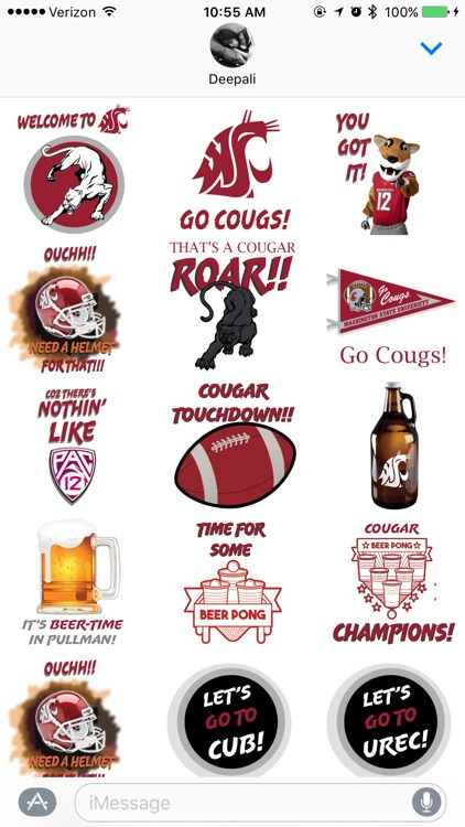 Coug Stickers screenshot-2