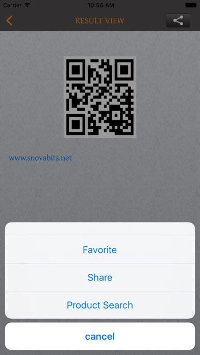 Bar/QR-Code Scan&Generator Screenshot on iOS