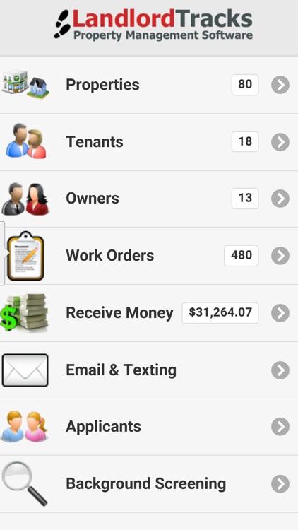 Landlord Tracks Mobile