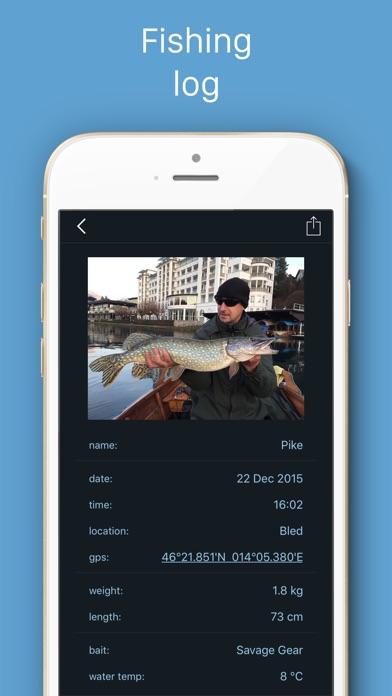 Fishing Calendar review screenshots
