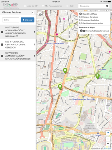 Espacios.gob screenshot 3