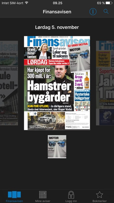 Finansavisen review screenshots