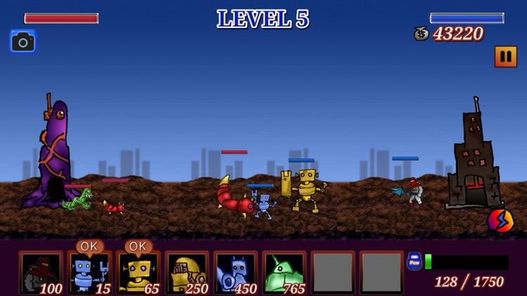 RobotVSAlien screenshot-0
