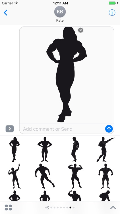 Bodybuilding Stickers