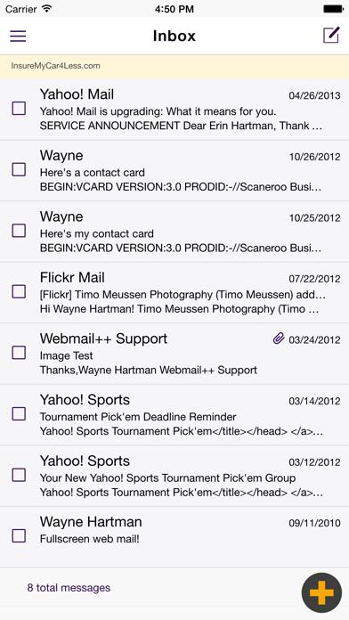 Webmail++Скриншоты 1