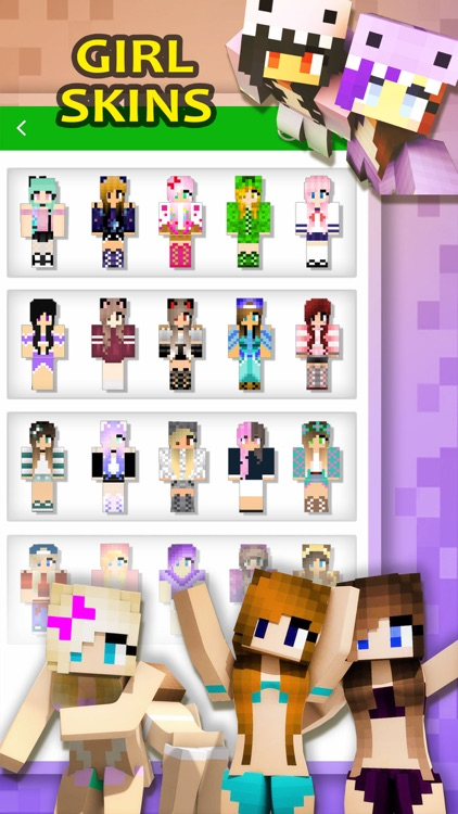 Girl Skins Creator Pro - Minecraft Pocket Edition