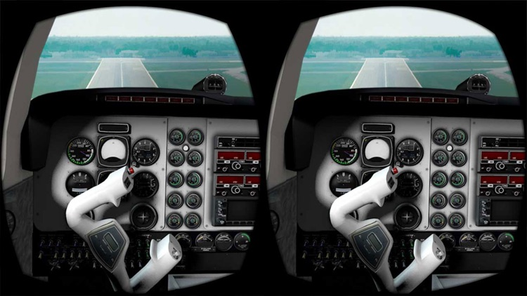 VR Airplane Flight Simulator for Google Cardboard screenshot-4