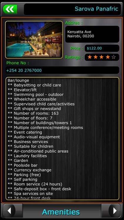 Nairobi Offline Map Travel Guide screenshot-3