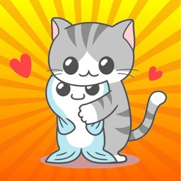 Cat Cute Baby GIF- Fc Sticker