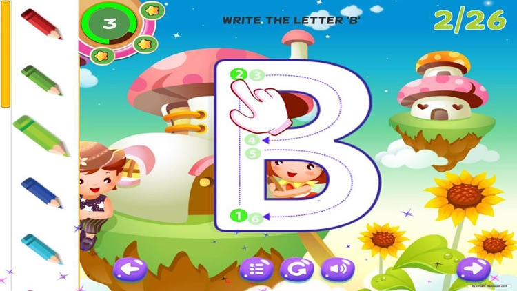 Alphabet Learning  Letter Writing ABC for Kids