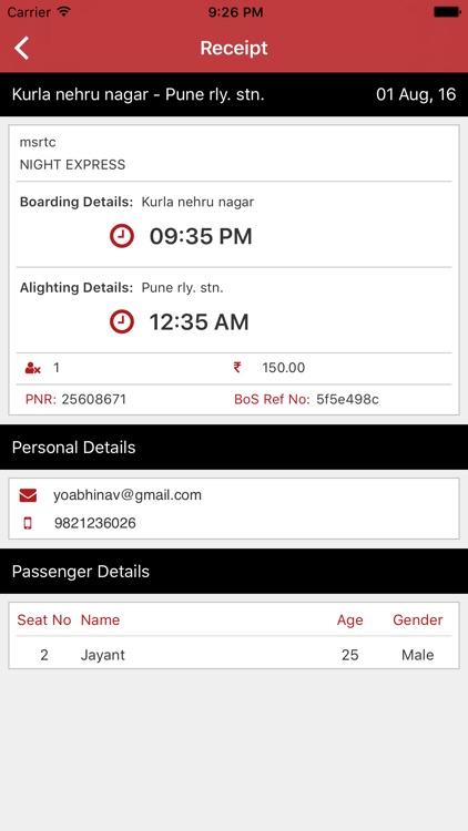 BookOnSpot: Online Bus Booking screenshot-4