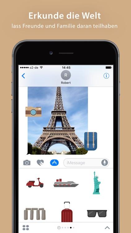 Travel Sticker Pack - iMessage