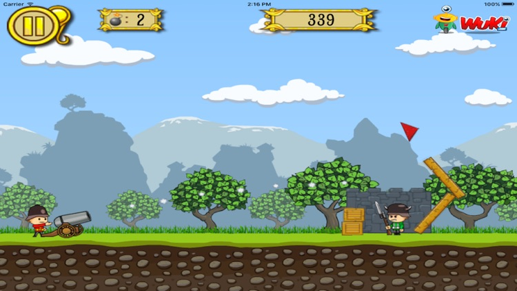 Soldiers Vs Cannons screenshot-3