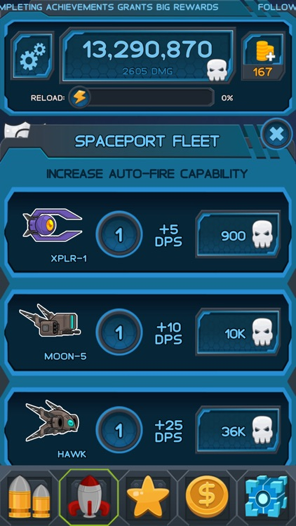 Space Clicker - Shooter Idle Clicker Game screenshot-3