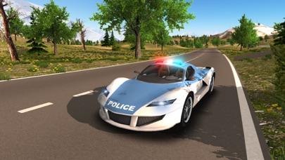 Police Car driving Offroad 4x4のおすすめ画像2