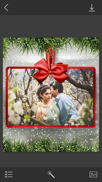 Holiday Xmas Picture Frames Free Instaframe App Mobile Apps