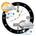 100.这是一个更好的时钟 - 天气预报和月相日历