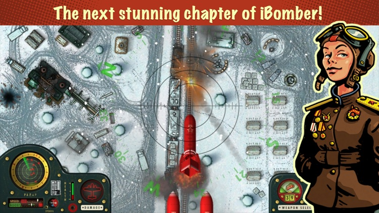 iBomber Winter Warfare screenshot-0