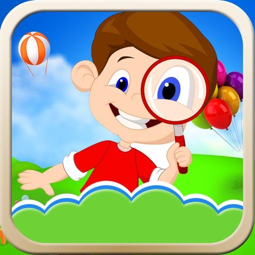 宝宝找不同-培养宝宝的观察力的早教游戏