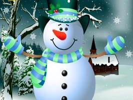 Silly Christmas Snowman