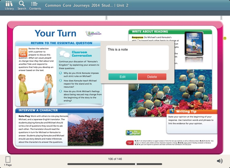 HMH eTextbooks App screenshot-3