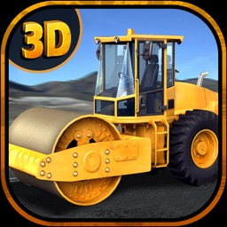 City Road Construction Roller Drive-r simulator