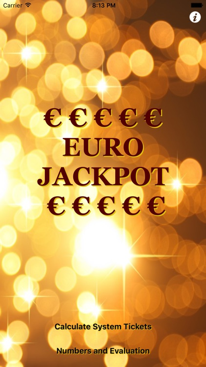 EURO JACKPOT screenshot-0