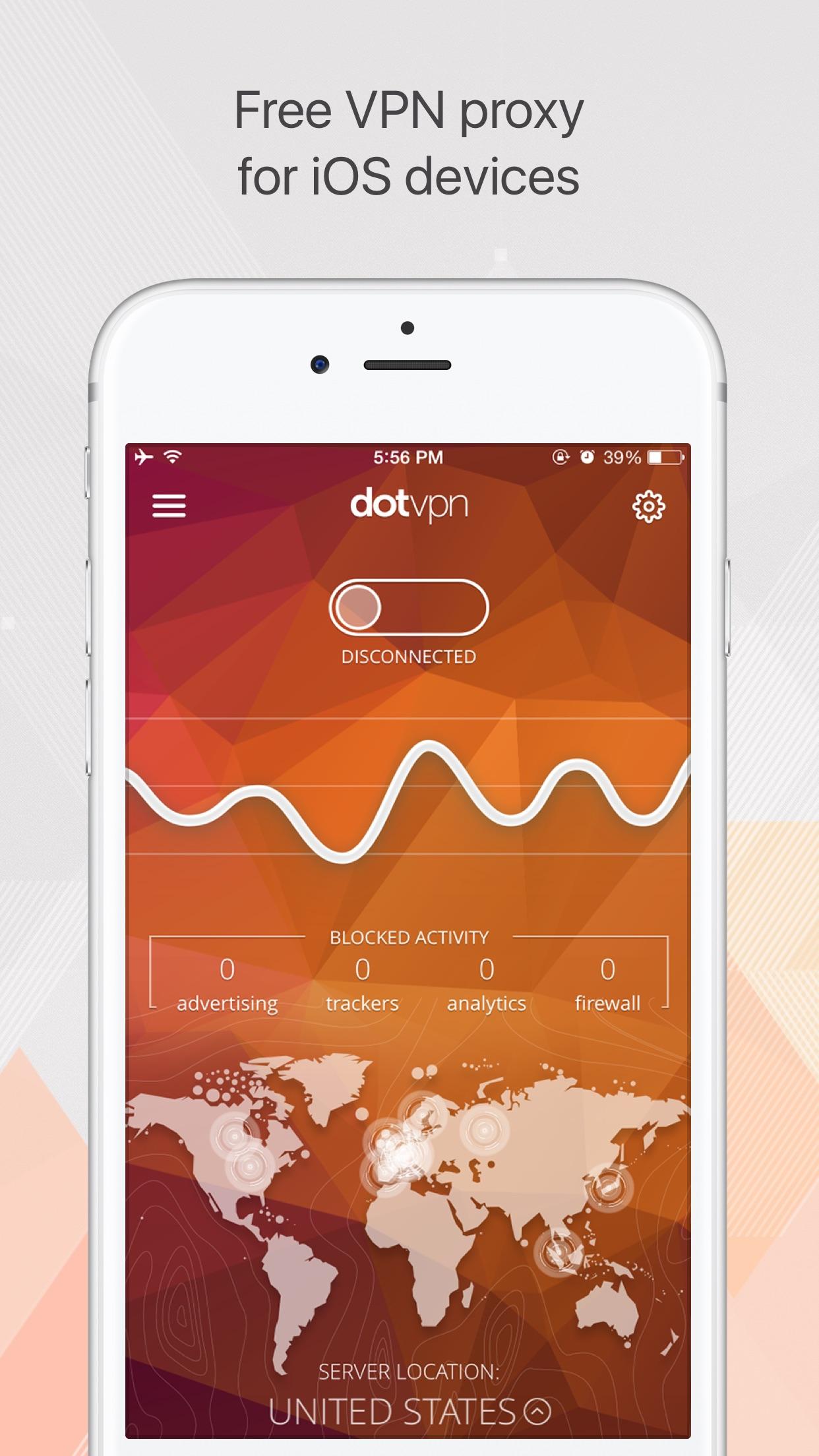 DotVPN — a better way to VPN Screenshot