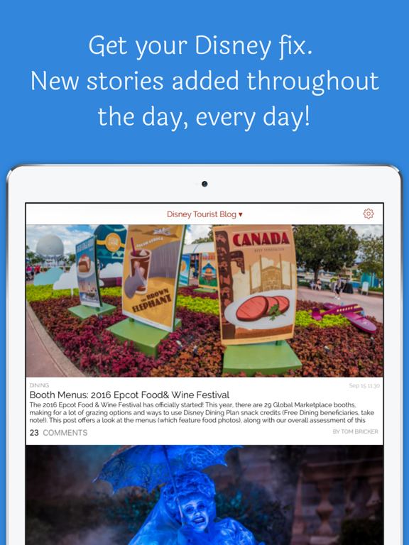 Ears the News: for Disney World screenshot
