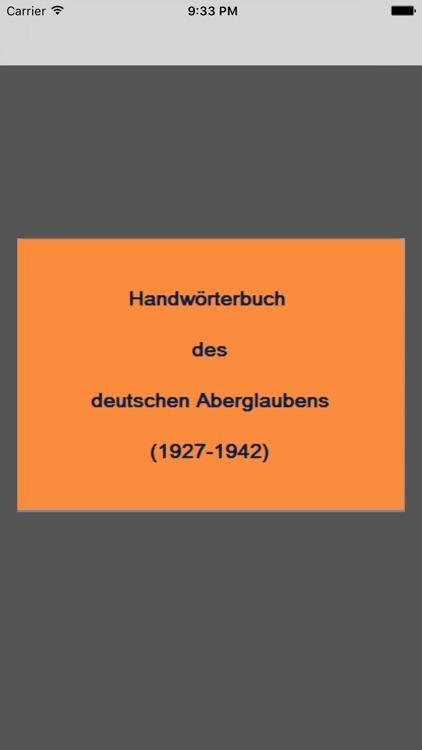Deutscher Aberglaube