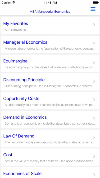 MBA Managerial Economic screenshot-4
