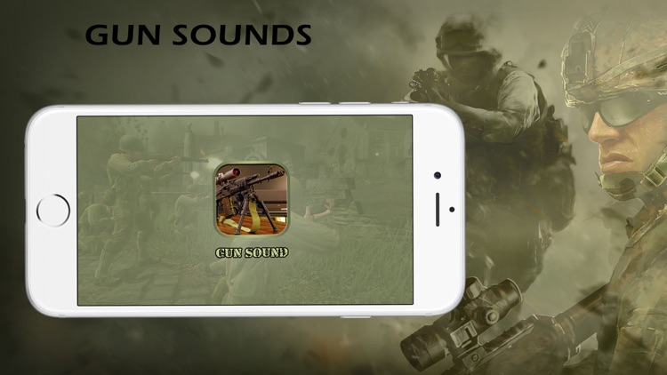 Weapon And Guns Sounds - Guns Shooter Free screenshot-0