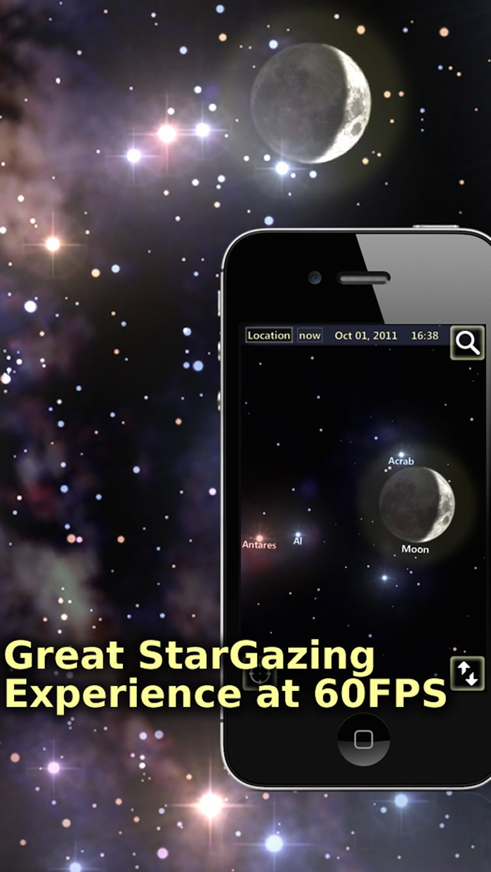 StarTracker Lite-Mobile SkyMap Screenshot