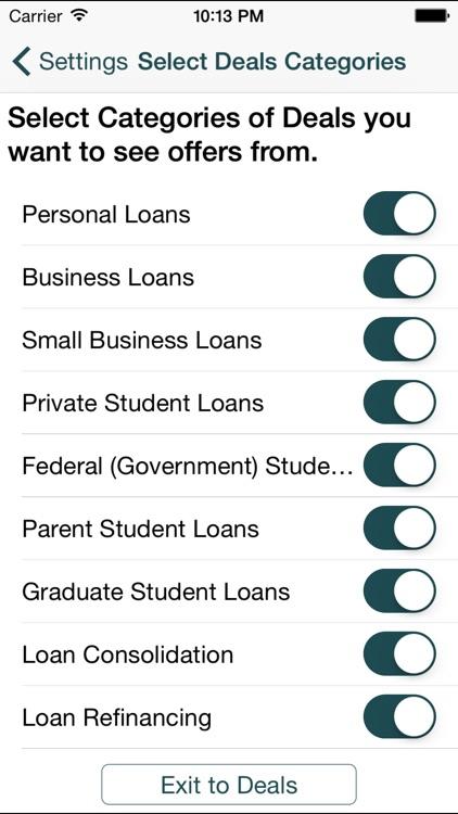 Loan & Student Loan Deals, Mortgage Deals screenshot-4